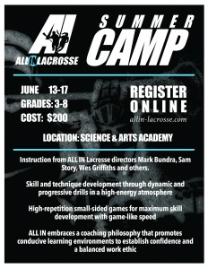 All In Lacrosse Summer Camp