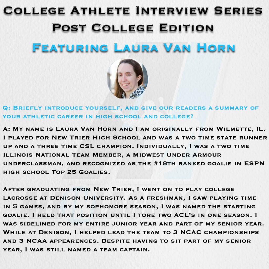 Van Horn Interview Page 1