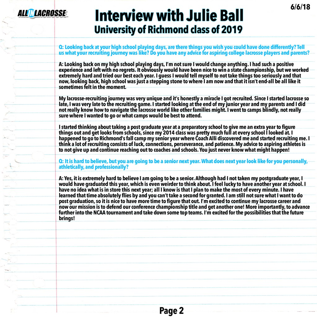 Ball Interview Page 2
